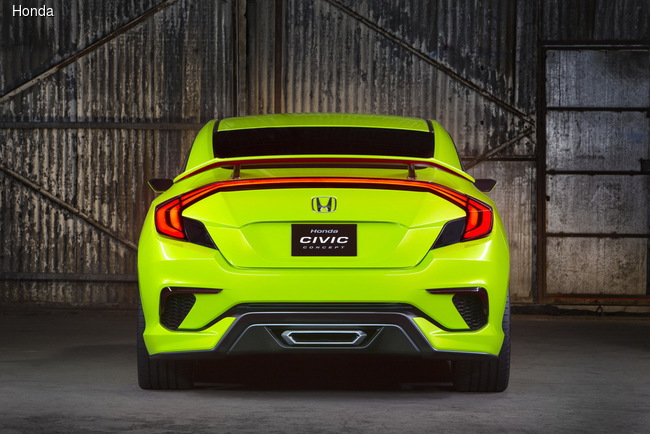 Honda Civic готов покорять Америку