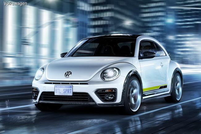 VW Beetle предстал в необычных исполнениях