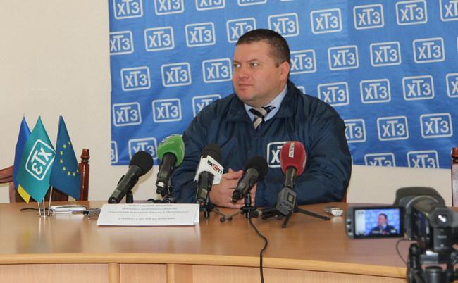 Генеральный директор АО «ХТЗ» Владислав Губин