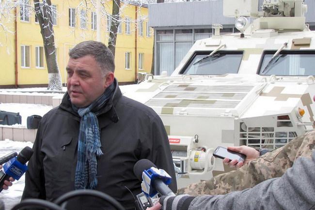 Директор ГП «Львовский бронетанковый завод» Александр Остапец