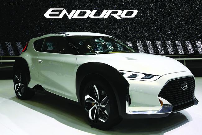 Hyundai Enduro намекает на будущий кроссовер