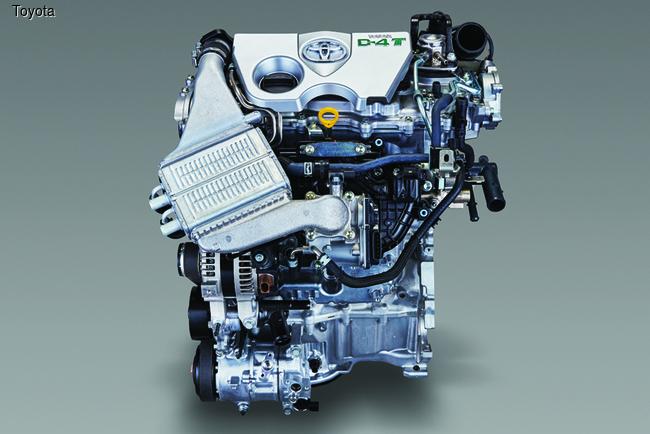 Toyota Auris получил турбомотор