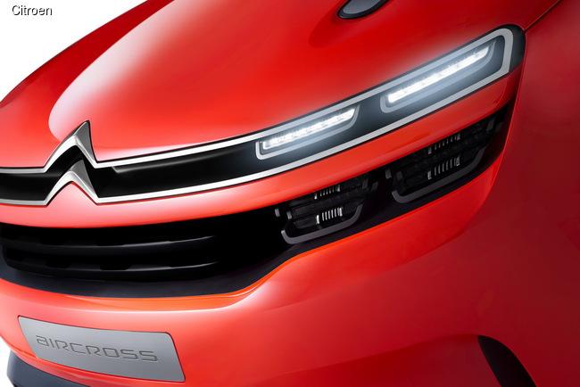 Citroen Aircross представят в Шанхае