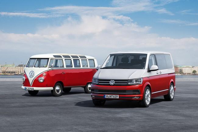 Состоялся мировой дебют Volkswagen T6