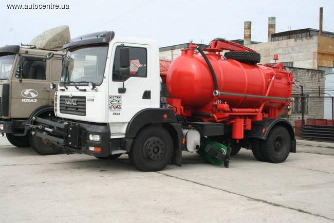 Новый дорожный автомобиль КрАЗ-5401Н2