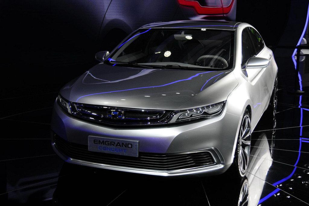 китайские концепт кары джилли 2013