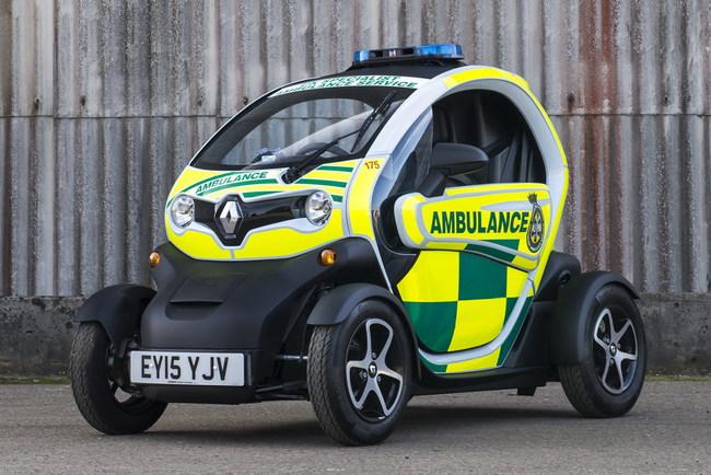 Renault Twizy Cargo Ambulance