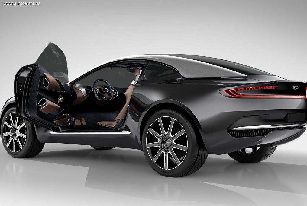концепт Aston Martin DBX