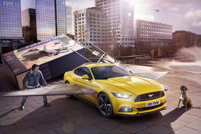 Европейский Mustang показывает характер
