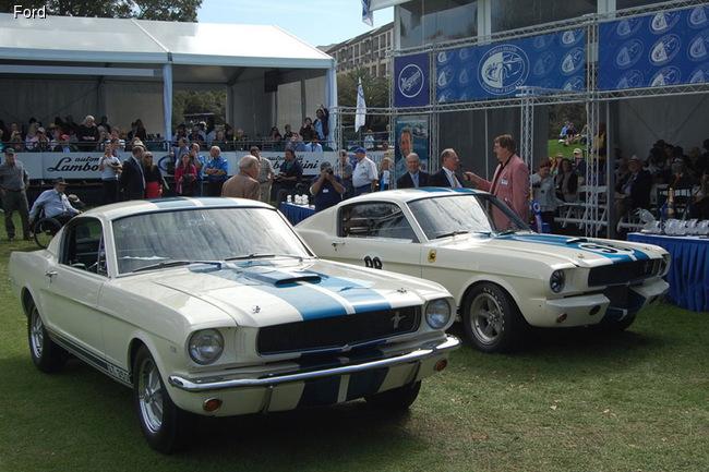 Два прототипа гоночных Shelby GT350 образца 1965 года