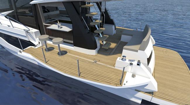 Galeon представил яхту с раздвижными бортами