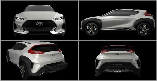 Концептуальный кроссовер Hyundai Enduro