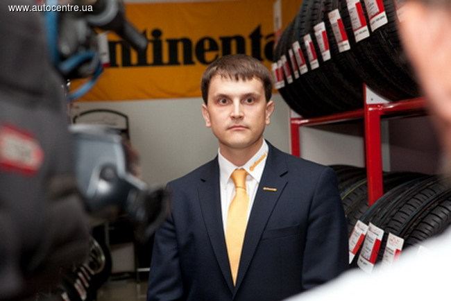 Александр Воробей, региональный менеджер Continental по продажам в Украине