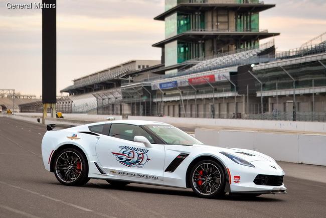 Chevrolet Corvette возглавит «500 миль Индианаполиса»
