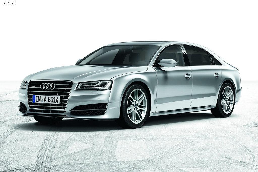 Audi A8 получил порцию обновлений