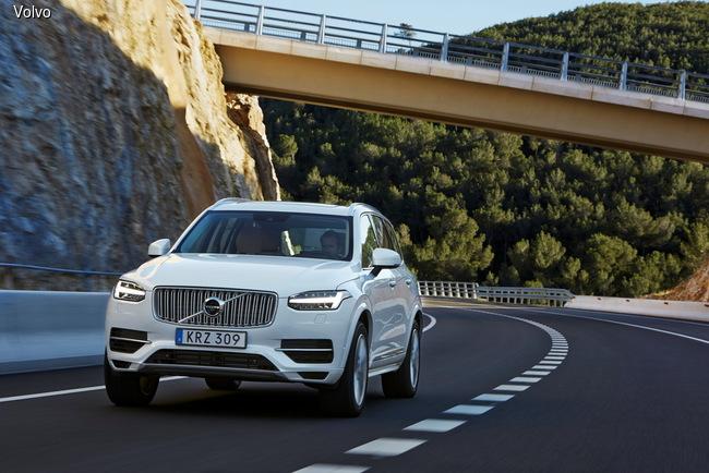 Volvo XC90 претендует на звание самого экономичного SUV