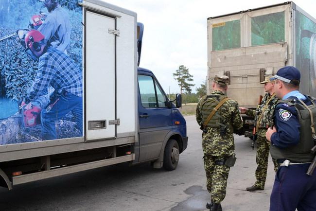 Луганская ГАИ борется с контрабандой