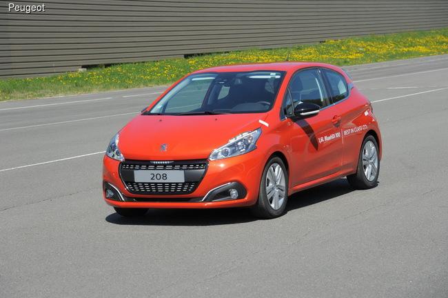 Peugeot 208 c 1,6-литровым турбодизелем установил рекорд экономичности