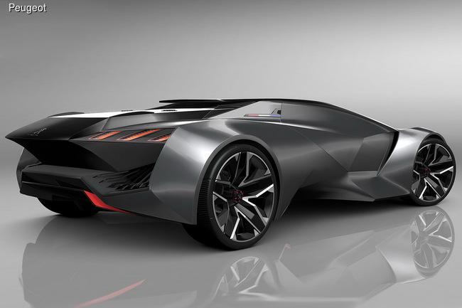 Peugeot Vision Gran Turismo разгоняется до сотни за 1,73 секунды