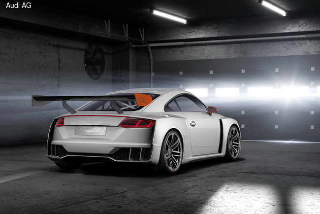 Audi TT clubsport turbo презентуют в Вертерзе