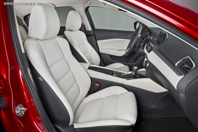 Обновленная Mazda6 2015: изменения во благо