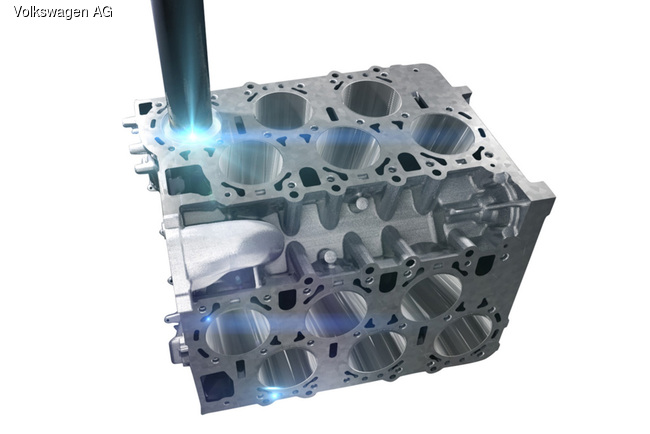 Volkswagen представил новые моторы