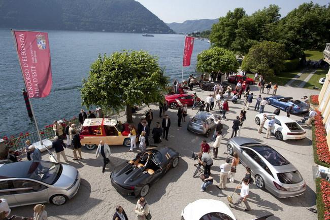 Захватывающие дух автомобили и мотоциклы на Конкурсе элегантности Villa d'Este 2015 года