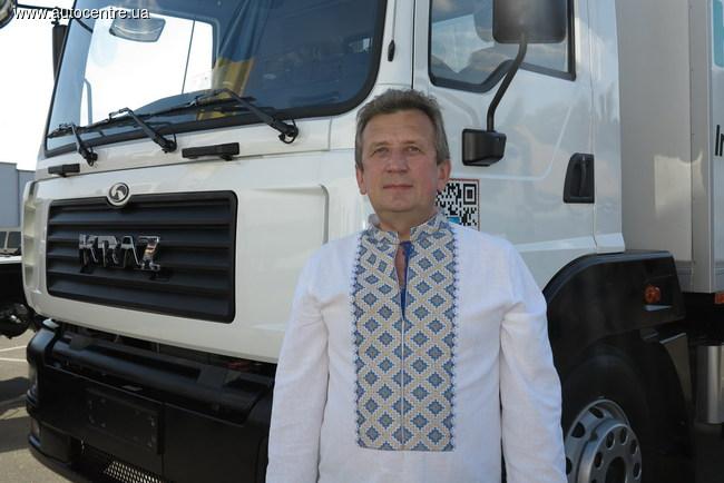 Генеральный директор ПАО «АвтоКрАЗ» Роман Черняк