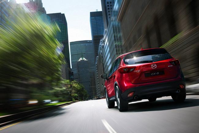 Выпущена миллионная Mazda CX-5