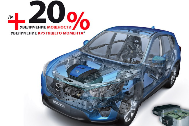 Mazda CX-5 стала еще мощнее