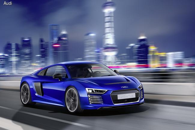 Audi R8 e-tron обзавелся автопилотом