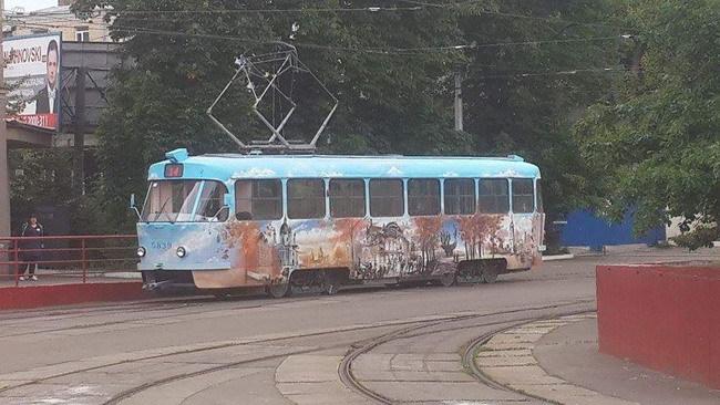 В Киеве можно выиграть проездной на трамвай