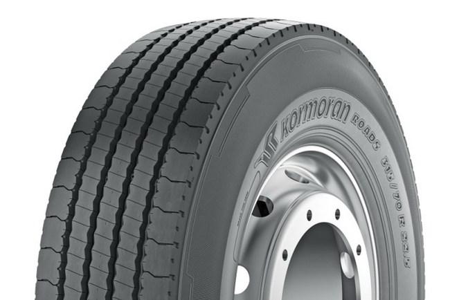 Michelin выводит новые грузовые шины Kormoran