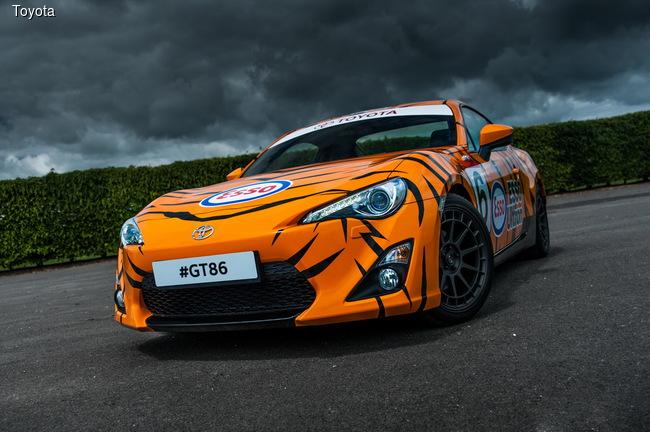 Toyota привезет в Гудвуд необычные купе GT86
