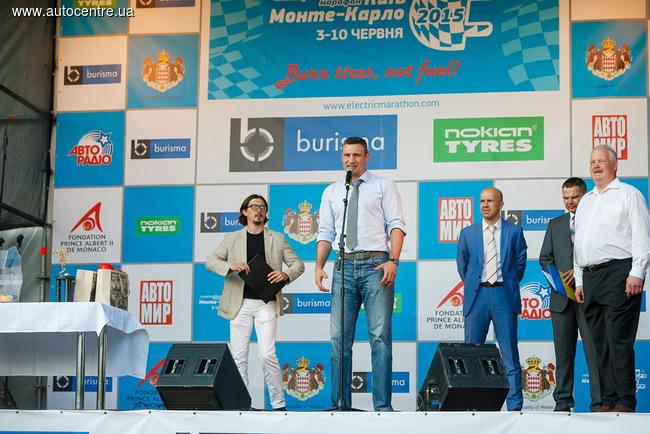Nokian Tyres поддержала экологический пробег Electric Marathon 2015