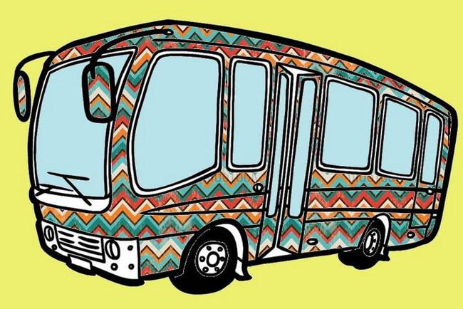 Киевляне смогут разукрасить автобус