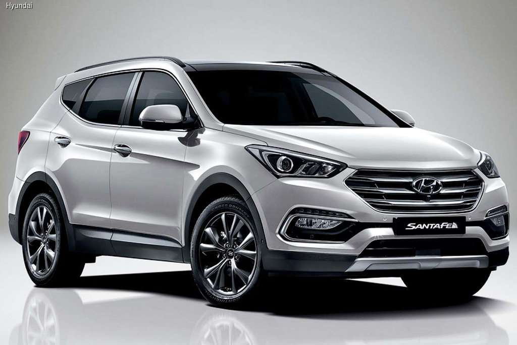 Компания Hyundai обновила кроссовер Santa Fe