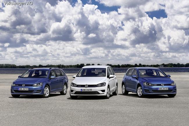 Volkswagen Golf получил новый суперэкономичный мотор