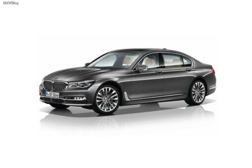 Новый BMW 7-Series «засветился» в интернете