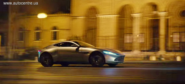 новый Aston Martin DB10