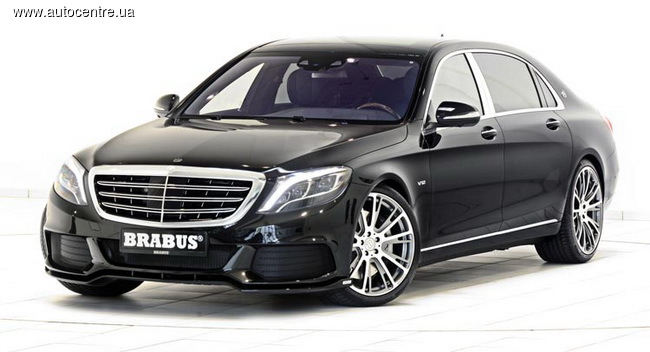 Brabus тюнинговал Mercedes-Maybach S600