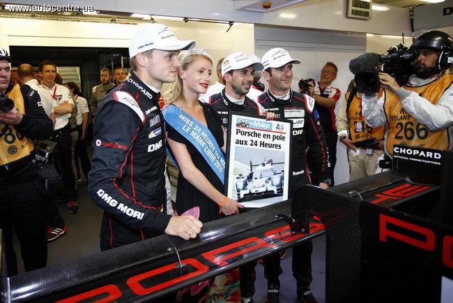 Porsche 919 Hybrid побил рекорд круга в Ле-Мане
