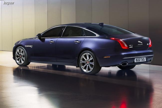 Jaguar презентовал обновленный седан XJ