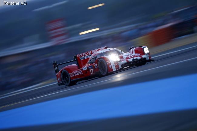 Porsche одержал победу в Ле-Мане