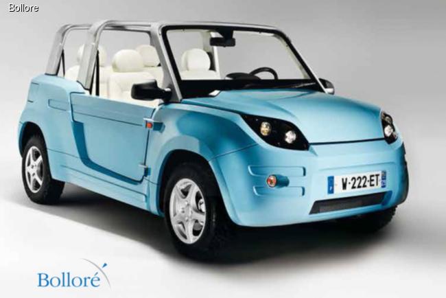 PSA Peugeot Citroen подружился с Bollore