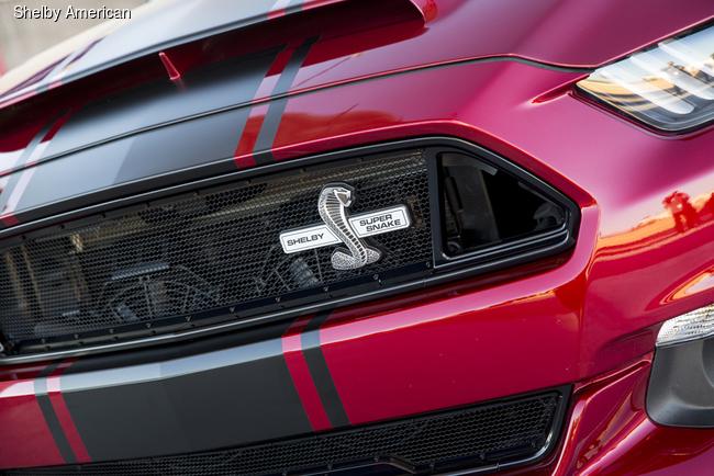 Компания Shelby American представила Mustang Super Snake