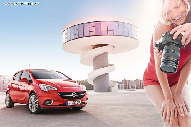 новое поколение Opel Corsa