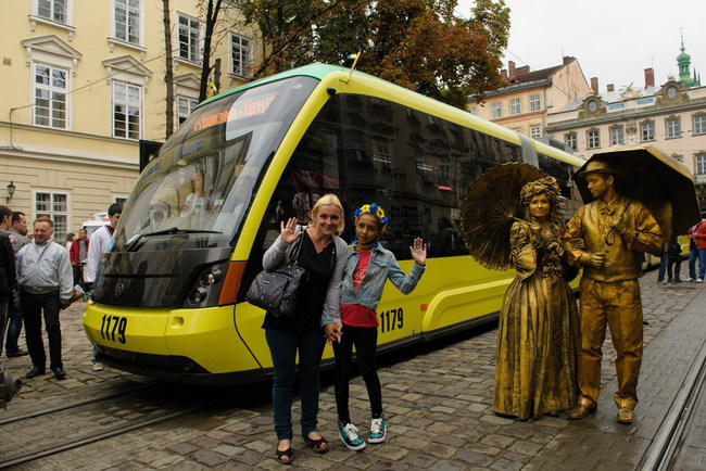 Львовский трамвай «Электрон»