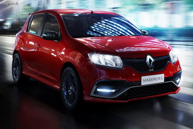 Представлен «подогретый» хэтчбек Renault Sandero R.S.