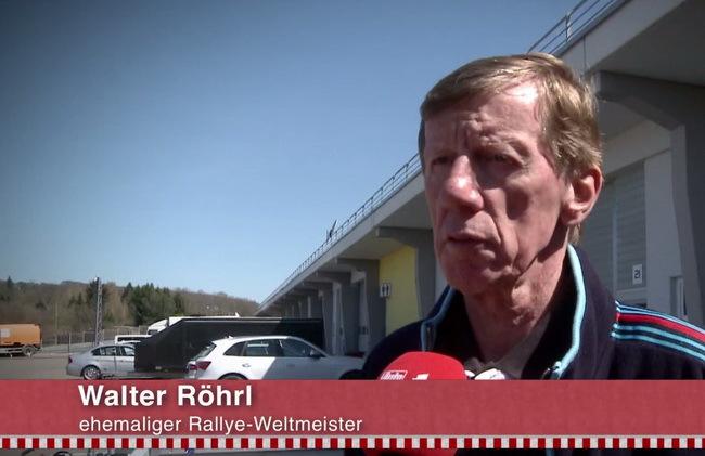 Легенда ралли Вальтер Рерль врезался в отбойник на Porsche 918